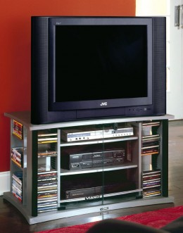 CD/DVD Storage can be combined into a Home Theatre setup!