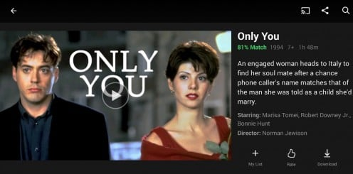 """""""Only You"""" is now available for streaming on Netflix Philippines"""