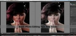 Basic Photo Editing Tips And Tricks