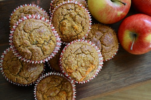 Using paper muffin liners make them easier to eat.