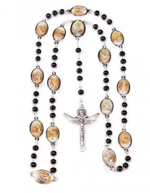 The Cross as a Rosary for Prayer!
