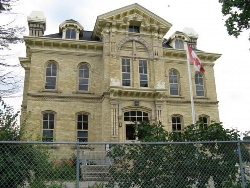 Central School in Woodstock, Ontario