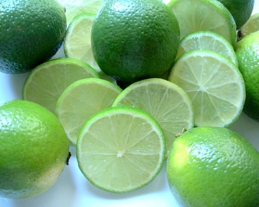 Perfect little fruits and so nice on a hot summer day. In a beer or on your taco....mmm