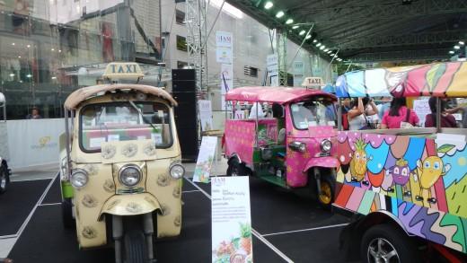 Decorated world famous tuktuk