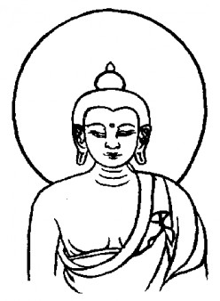 LORD BUDDHA'S FIRST TURNING OF THE WHEEL OF DHARMA