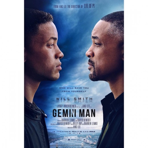 The official 'Gemini Man' poster. A Paramount Pictures release.