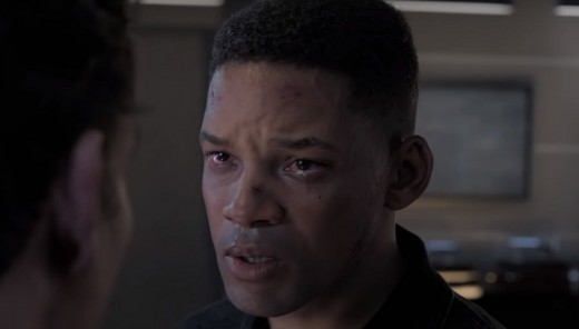 A still from 'Gemini Man' featuring the digitally de-aged 23 year old Will Smith.