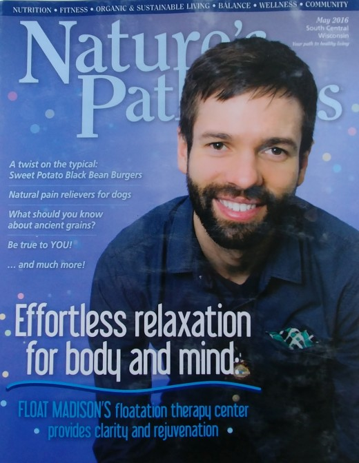Greg Griffin, Owner of Float Madison (Magazine cover)