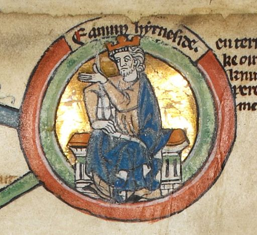 Edmund Ironside - MS Royal  Author: Unknown