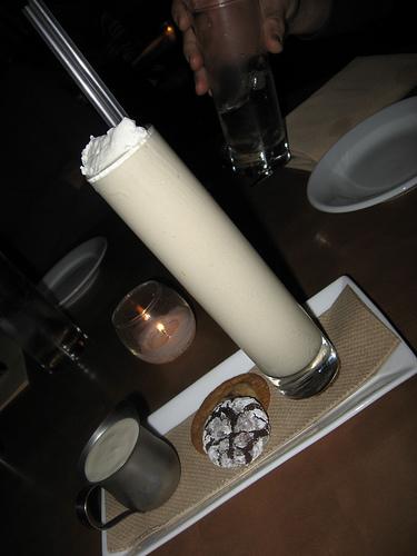 Coffee milkshake (image courtesy of inuyaki.com on Flickr)