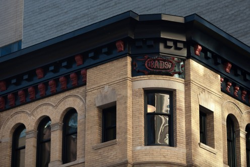 The Dineen Building (located at 140 Yonge Street at the northwest corner with Temperance) was built in 1897.