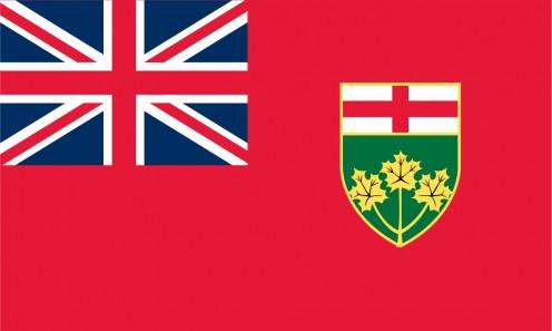 Provincial flag of Ontario