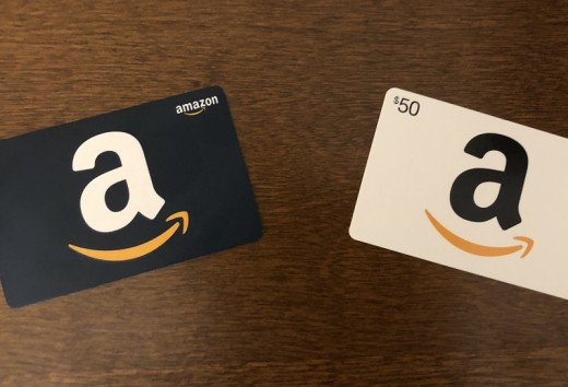 Gift cards can be used just like debit or credit to buy items from Amazon Warehouse.