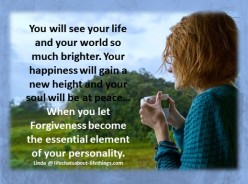 Forgiveness- Do it Now!