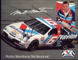 We met Mark Martin when he was still driving this car.