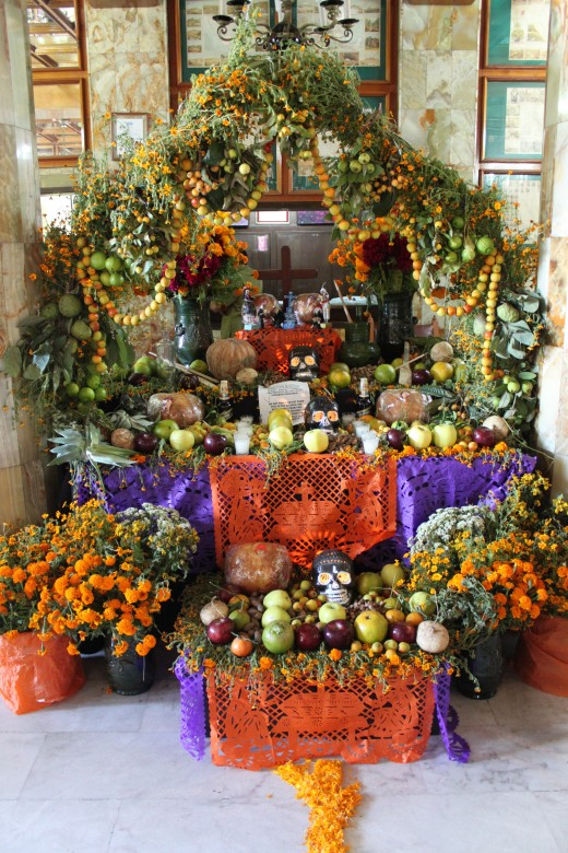 Beautiful, elaborate ofrenda