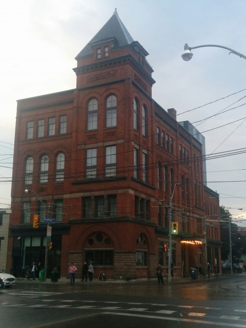 View of Broadview Hotel in 2017 from south-east