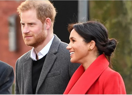 Proud Parents the Duke and Duchess of Sussex