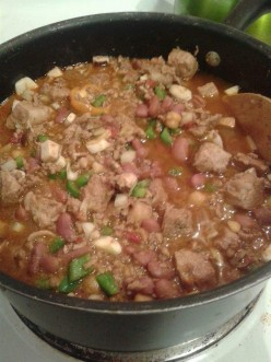 Double Beef and Bean Chili