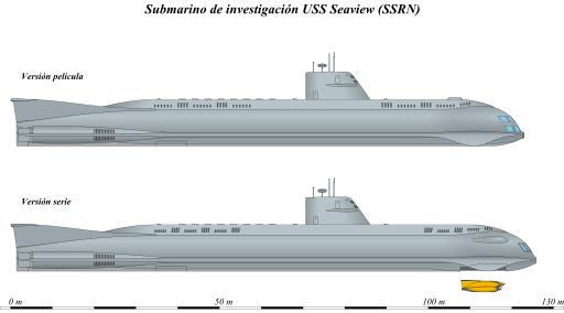 Diagrams of the Seaview.