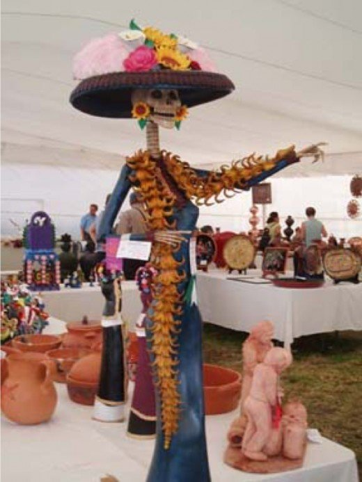 Catrina is a popular figure at many art exhibitions and contests.