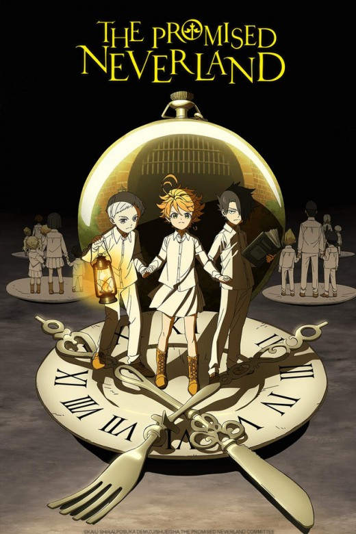 The Promised Neverland anime promotional picture.