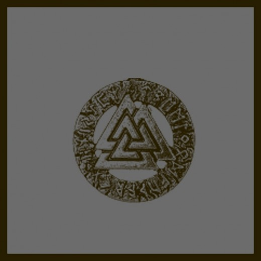 The Valknut is a symbol for those who follow the old ways of the Norse gods