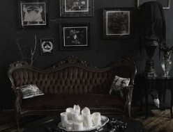 Wanting To Go Gothic Home Decor