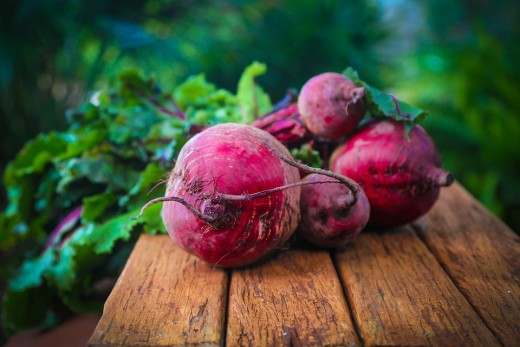 Beetroot for circulation
