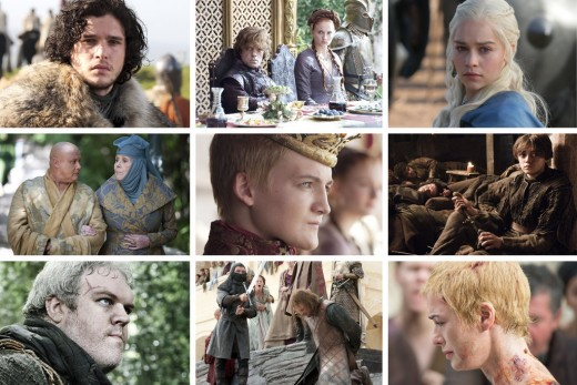 """Characters on """"Game of Thrones"""""""
