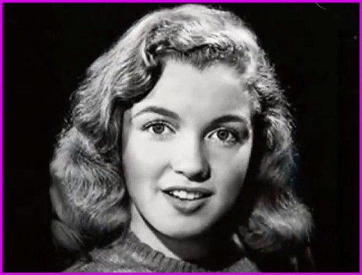 Marilyn as a young teen. Due to her mother's mental health issues, Marilyn Monroe spent most of her early life in various foster homes.  She would go on to become one of the most famous women in the world.