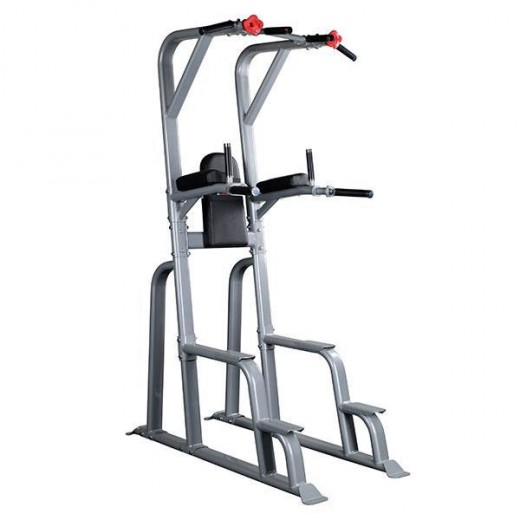 Commercial grade pull-up and dip power towers.