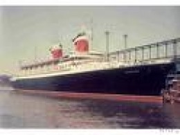 I returned to UK on SS Australis, the ill-fated liner run aground off Canaries and broken.