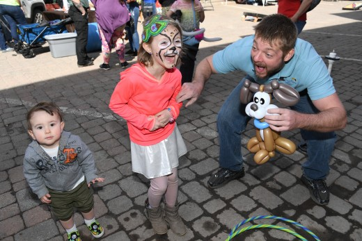Face Painting and Balloon Animals.