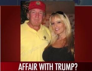 Donald Trump and  mistress, Stripper- Porn Star, Stormy Daniels