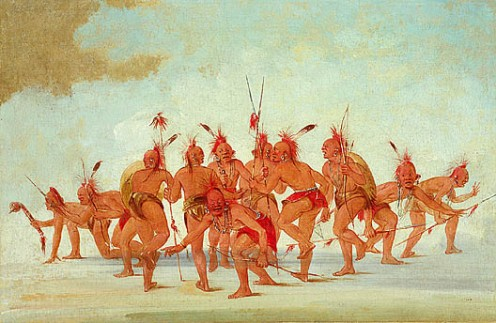 Sac & Fox by George Catlin, 1835.
