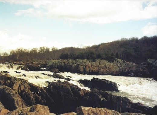 The Great Falls, view from the Virginia side.