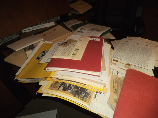Taking up genealogy has increased my paper piles dramatically.