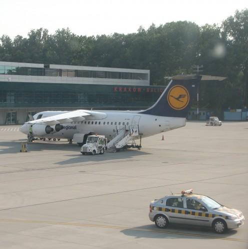 Homeward bound: Jana Pawła II Kraków–Balice, Poland airport.  © Georgene A. Bramlage