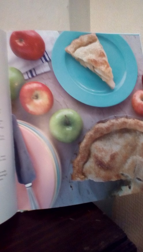 How about making an apple pie?
