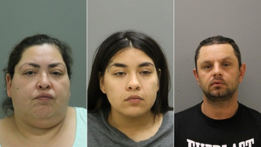 Arrested in the death of Marlen Ochoa-Lopez; Clarissa Figueroa, daughter Desiree Figueroa, and boyfriend Piotr Bobak