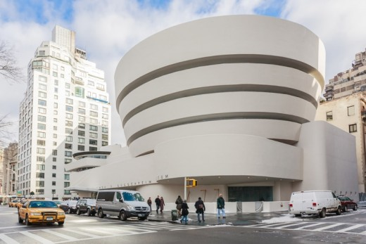 The Guggenheim Museum, Wright's only New York composition and still in a class by itself