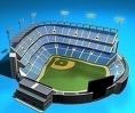 Find your favorite baseball stadium on Google Earth!