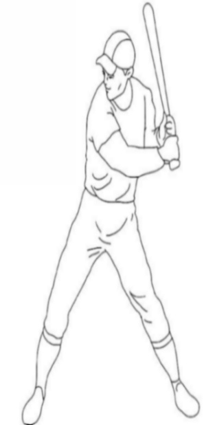 Uniformed Occupations Kids Coloring Pages Colouring Pictures to Print  - the baseball player