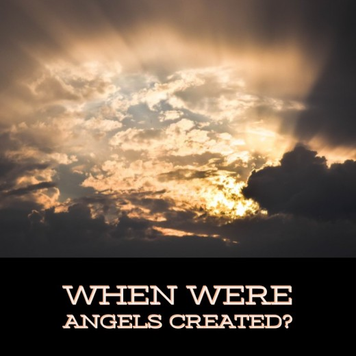 When were angels created?