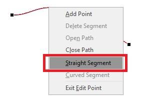 Figure 7: Straight segment