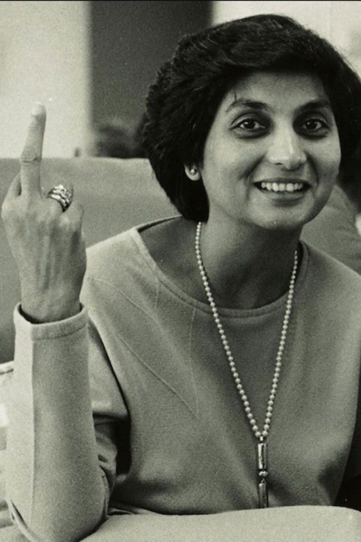Ma Anand Sheela, the second in command.