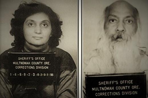 The Arrest of Sheela and Rajneesh.