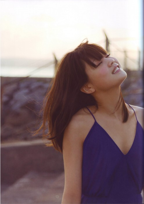From her 2012 photo book called Ascension, the last photo book that she would release as a member of Morning Musume.
