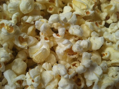 You can even smell the delicious aroma of popcorn.